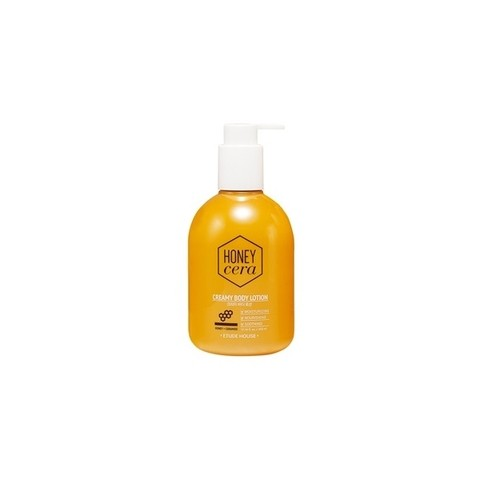 [ETUDE HOUSE] HONEY CERA CREAMY BODY LOTION 300ML