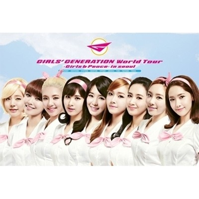 GIRLS' GENERATION - World Tour Girls & Peace in Seoul [DVD]