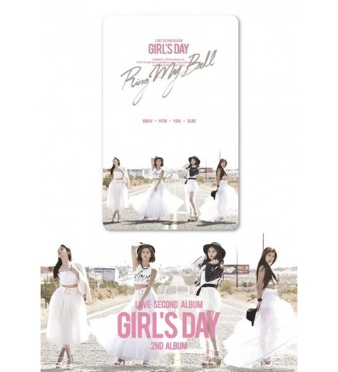 GIRL'S DAY - 2nd Album [LOVE] (SMC Kihno Card Album)