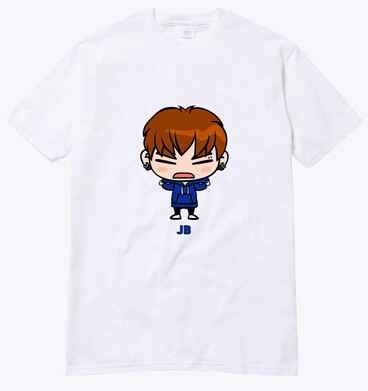 GOT7 CAMISETA CARTOON - comprar online