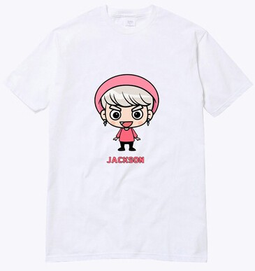 GOT7 CAMISETA CARTOON na internet