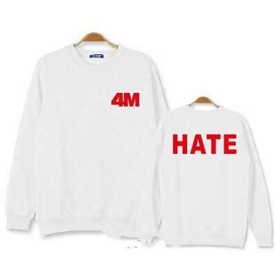 4MINUTE BLUSA HATE