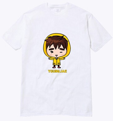 GOT7 CAMISETA CARTOON - loja online