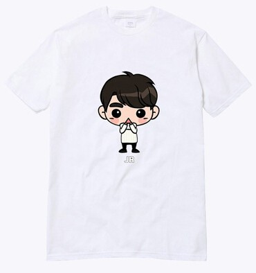 GOT7 CAMISETA CARTOON