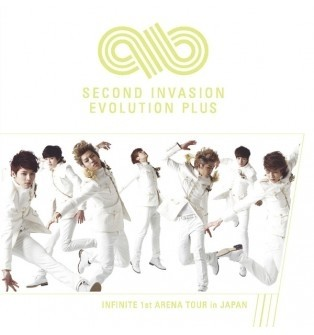 Infinite - 1st Arena Tour In Japan Second Invasion Evolution Plus [DVD]
