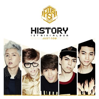 HISTORY - 2nd Mini Album [JUST NOW]