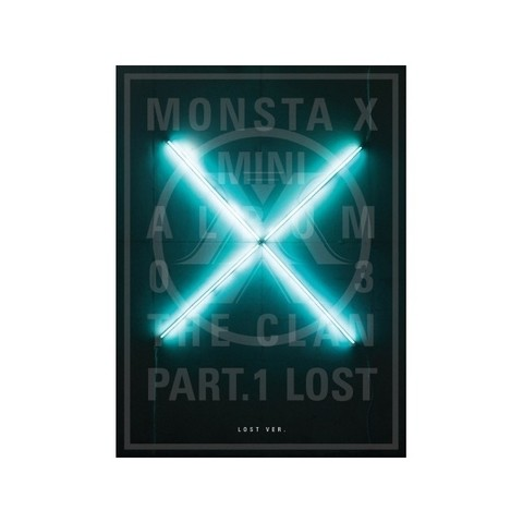 MONSTA X - 3rd Mini Album: The Clan 2.5 Part 1. [LOST] - comprar online