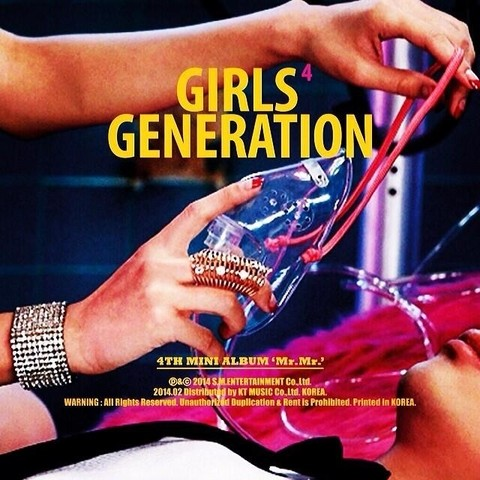 GIRLS' GENERATION - 4th Mini Album [MR MR]
