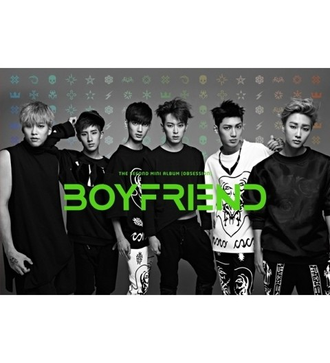 BOYFRIEND - 2nd Mini Album [OBSESSION]