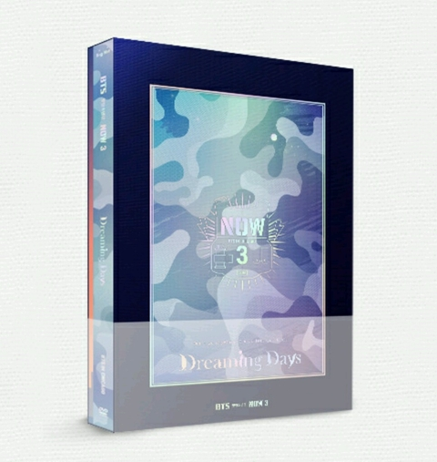 BTS - 2016 Now 3 BTS in Chicago [DREAMING DAYS] (DVD)