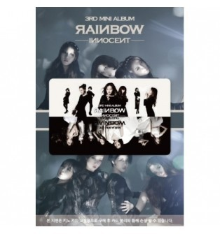 RAINBOW - 3rd Mini Album [INNOCENT] (NFC Card Album)