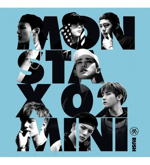 MONSTA X - 2nd Mini Album [RUSH] (Random) - comprar online