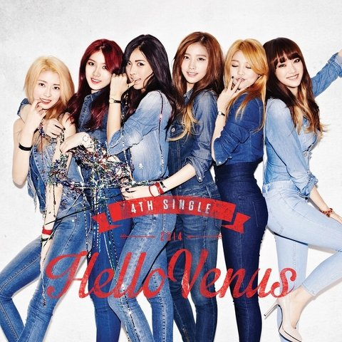 HELLO VENUS - 4th Single [STICKY STICKY]
