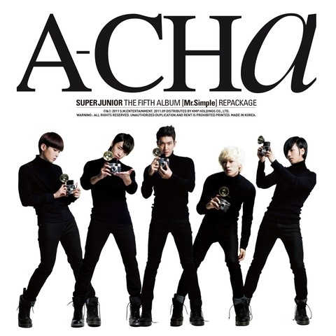 SUPER JUNIOR - 5th Album Repackage [A-CHA]