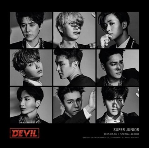SUPER JUNIOR - Special Album [DEVIL]