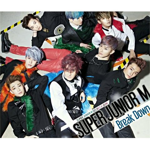 SUPER JUNIOR M - 2nd Album [BREAK DOWN]
