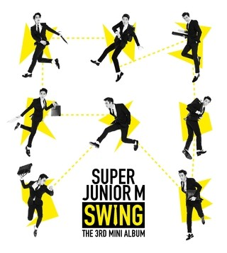 SUPER JUNIOR M - 3rd Mini Album [SWING]
