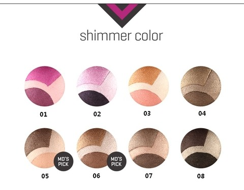 [TONYMOLY] SHIMMER TRIPLE DOME SHADOW 25G