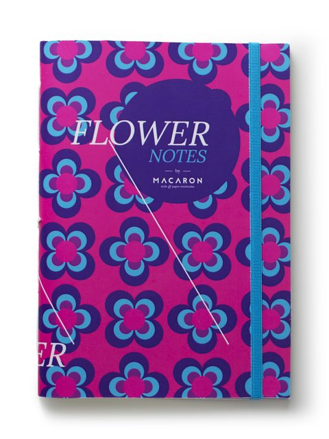 Libreta Flower Notes Butterfly