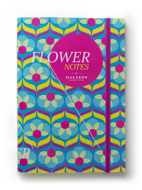 Libreta Flower Notes Spike  - comprar online