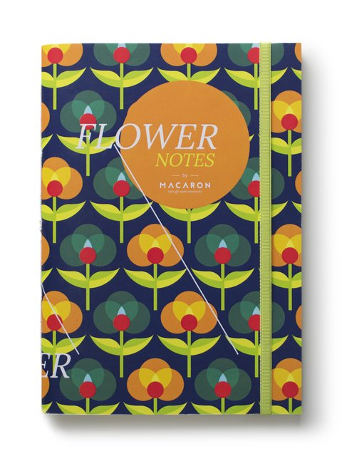 Libreta Flower Notes Pola  - comprar online