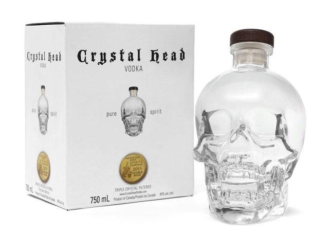 Crystal Head 750 cc Destilados