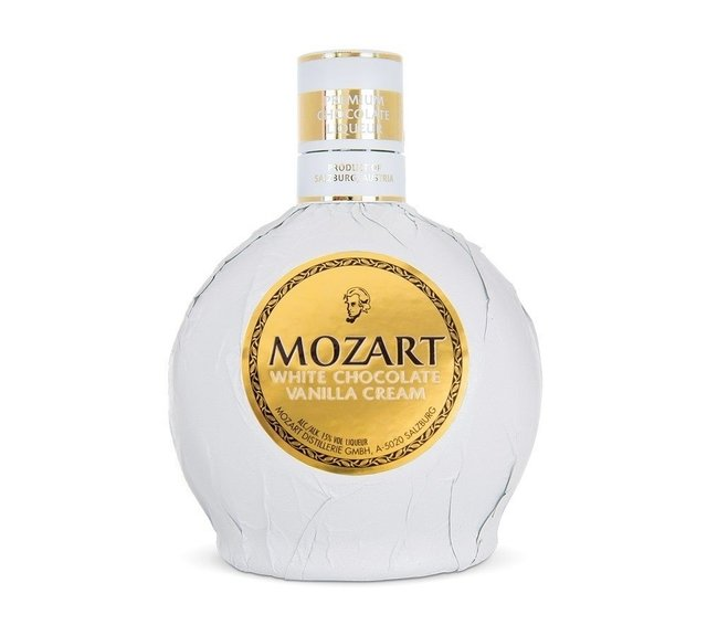 Mozart White Chocolate Licores