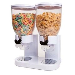 Dispensador De Cereales Doble Cerealero Alimentos Grandes en internet