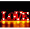Cartel Luminoso Love Luz Led Luz Color Dormitorio Letras - Levys Bazar
