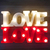 Cartel Luminoso Love Letras Luz 3d Color Dormitorio Led