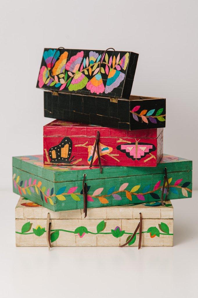 Caja de madera grande comprar en salm n tienda - Cajas de madera online ...