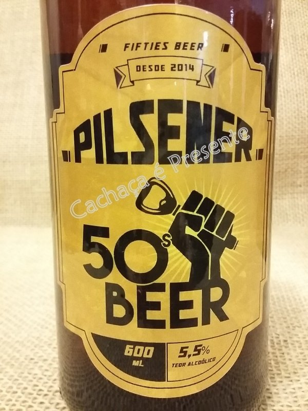 CERVEJA FIFTIES BEER PILSENER 600ML - 01174 na internet