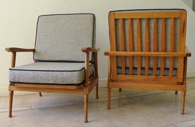 Par de sillones escandinavos comprar en retrodeco - Sillones originales ...