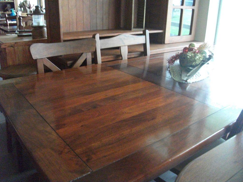 Mesas rectangular tablas