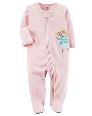 Macacão Fleece - Cute - Carters
