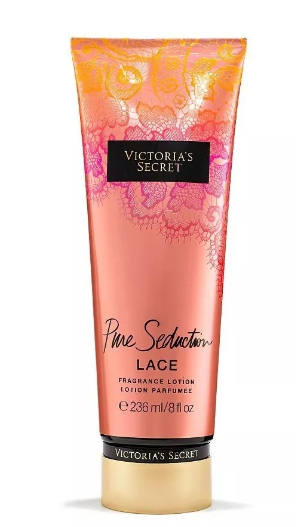 Creme Hidratante - Pure Seduction - LACE 236ml  - Victoria's Secret