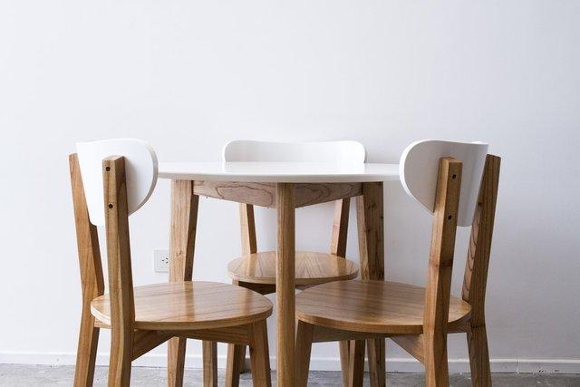 juego comedor mesa redonda 080 3 sillas cherlyn - Mesa Redonda Comedor