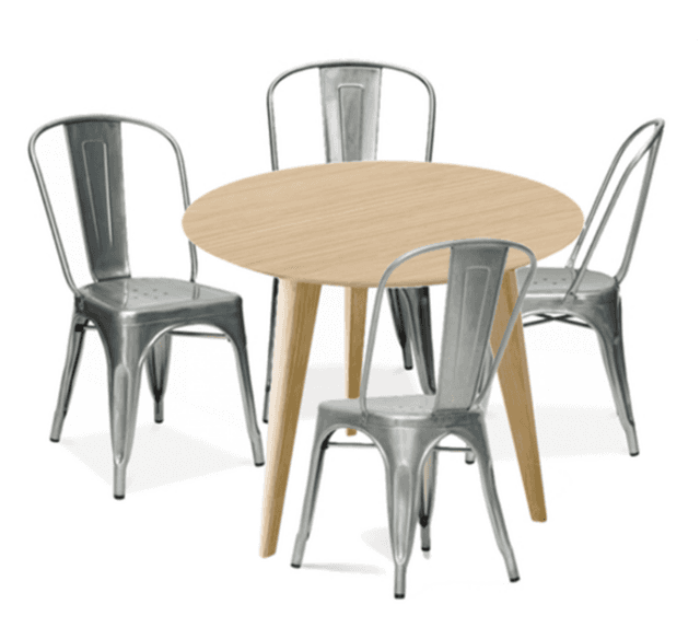 Comedores mesa redonda good juego de comedor mesa redonda for Sillas para mesa redonda