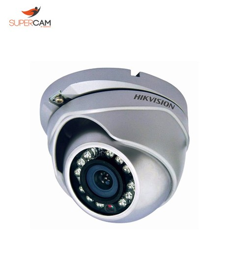 DOMO FIJO IR EXT METALICA HD 720p HIKVISION DS-2CE56C0T-IRM