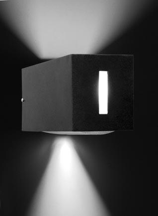 Luminaria para exterior apliques bidireccionales - Apliques de luz para exteriores ...