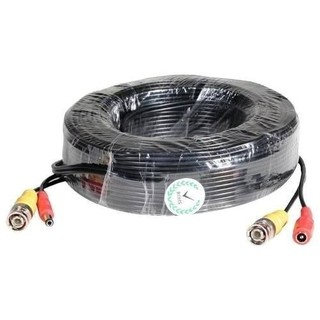 Cable Cctv 18 Mts Bnc Video Y Alimentacion Cctv Dvr Camara