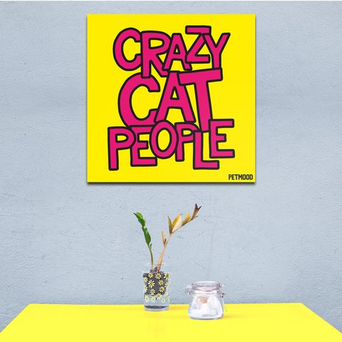 Quadro Crazy Pet People - comprar online