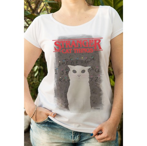 T-Shirt Feminina Stranger Things
