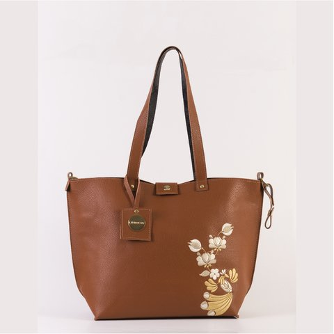 Bolso Twins Suela Bordado