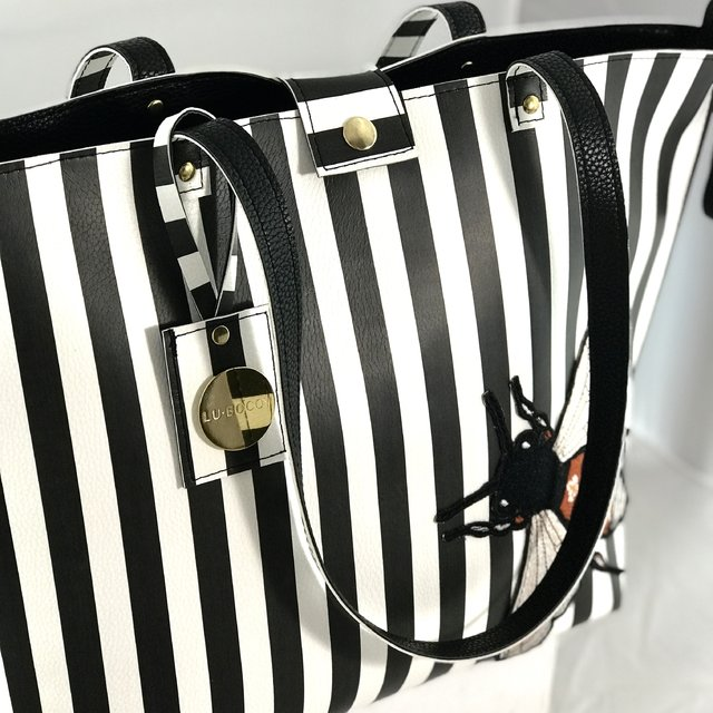 Bolso Twins REVERSIBLE Rayado