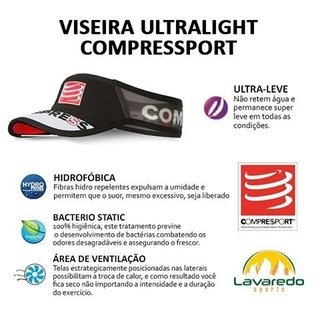VISEIRA ULTRALIGHT COMPRESSPORT - loja online