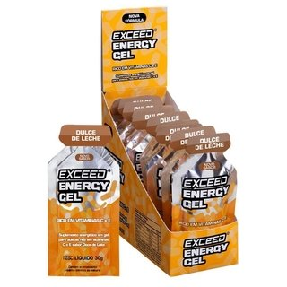 EXCEED ENERGY GEL – CAIXA 10 SACHÊS na internet