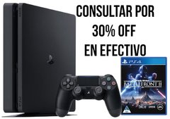 PS4 Slim 1Tb Battlefront II (Físico)
