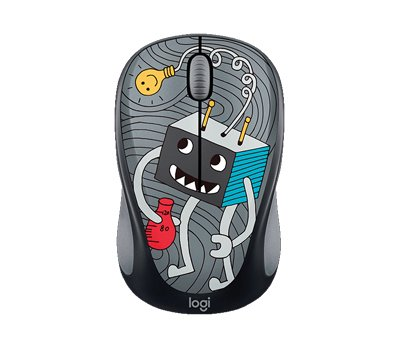 Mouse Wireless Logitech M317 Collection