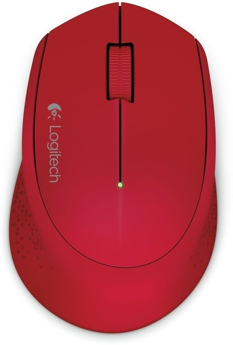 Mouse Wireless Logitech M280 Rojo